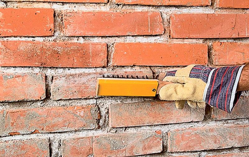 Подготовка стены к грунтованию