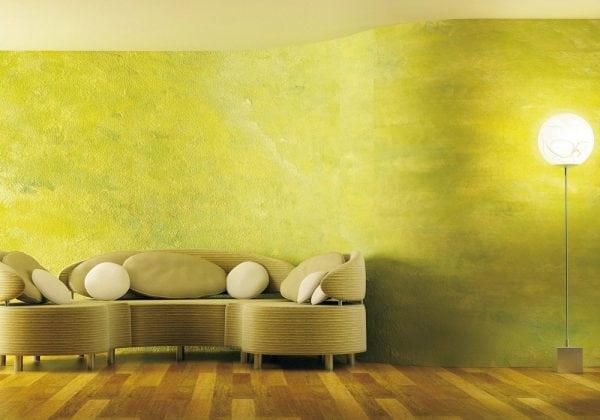 Достоинства декоративной покраски