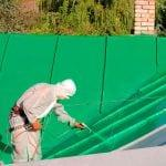 Краска для крыши резиновая