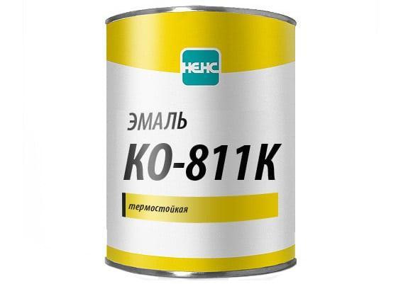 Кремнийорганическая эмаль КО-811