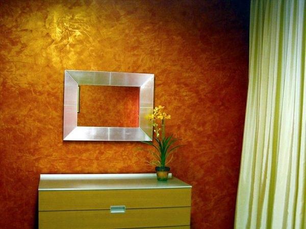 Мраморный эффект краской