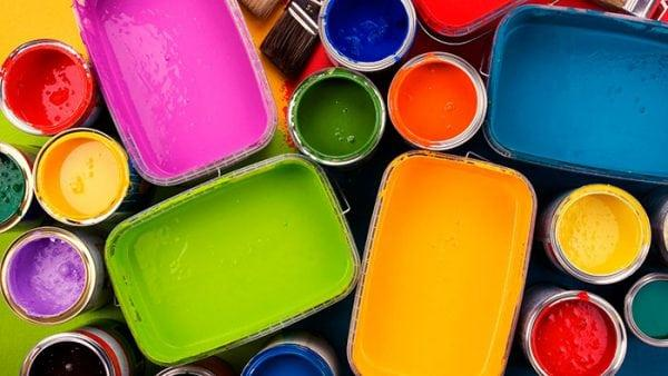Разные краски