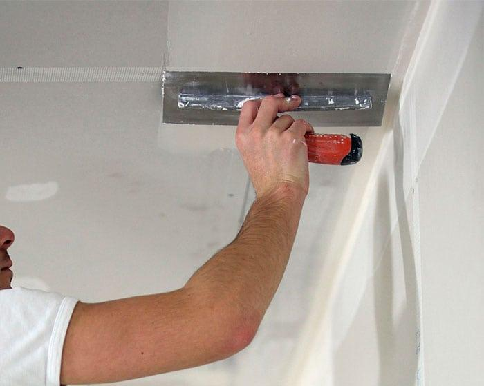 Шпаклевка для потолка под покраску