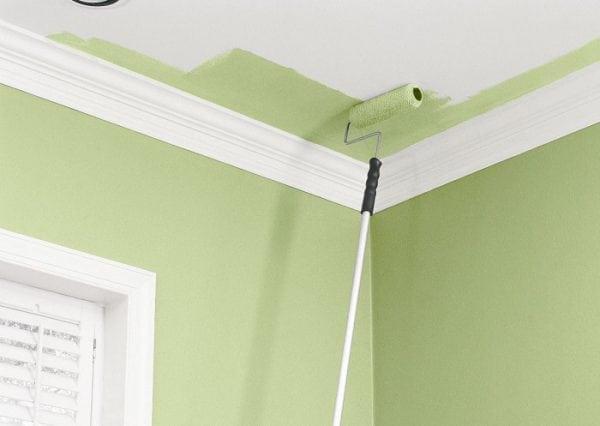 Выбираем валик для покраски потолка
