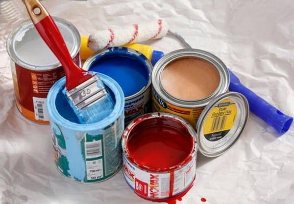 Расчет количества краски