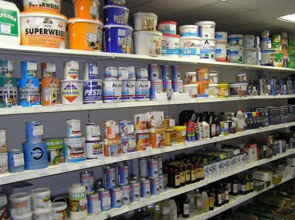 Покупка водоэмульсионной краски