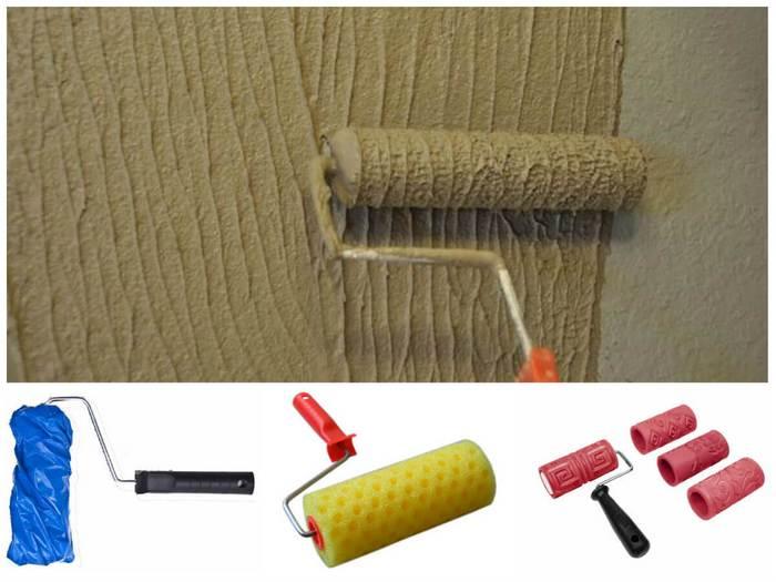 Валик для покраски потолка с пупырышками гидрофобизаторы для щебня
