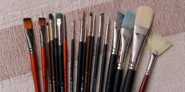Разнообразие размеров кисточек