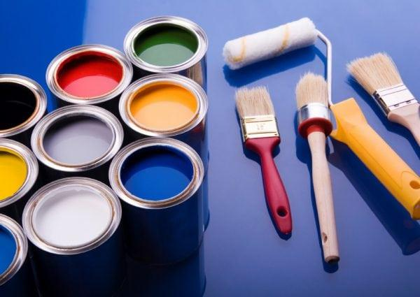 Разнообразные краски