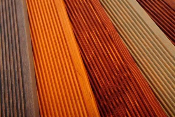 Оттенки красок для террасной доски