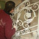 Покраска кованых изделий своими руками