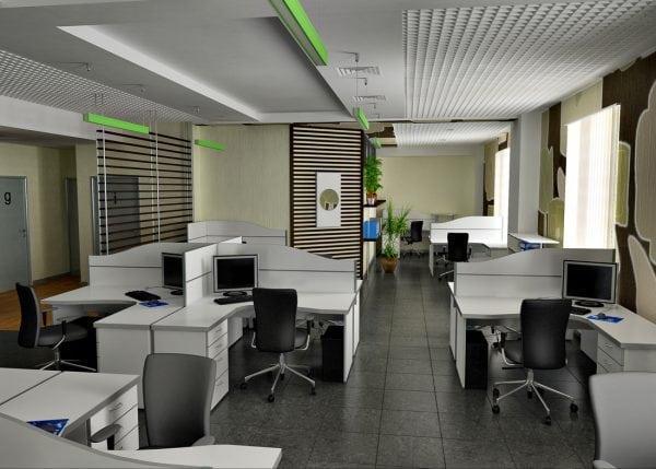 Цвета для современного офиса