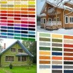 Выбираем оттенки и цвета краски для фасада дома