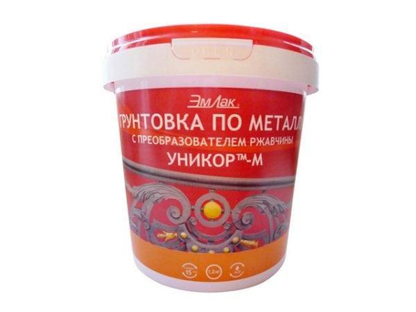 Грунтовка по металлу фирмы ЭмЛак