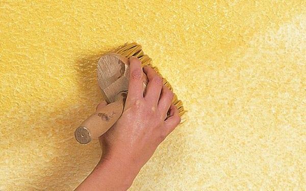 Декоративная штукатурка своими руками из шпаклевки