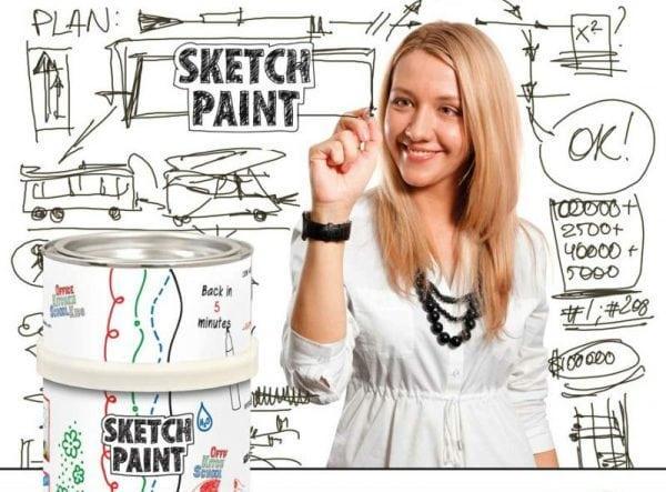 Специальная краска Sketch Paint