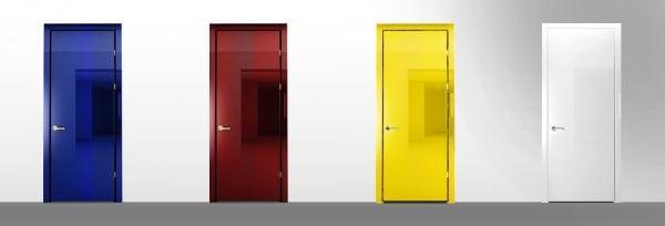 Межкомнатные двери в различных цветах