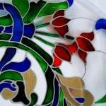 Роспись стекла красками