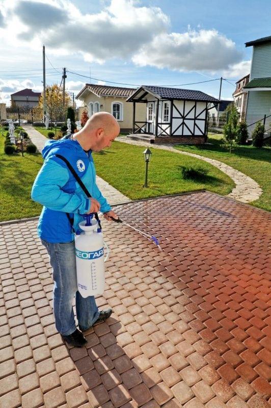 Гидрофобизатор с эффектом мокрого камня для тротуарной плитки наливные полы горизонт-2 цена воронеж