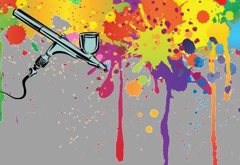 Как покрасить аэрографом