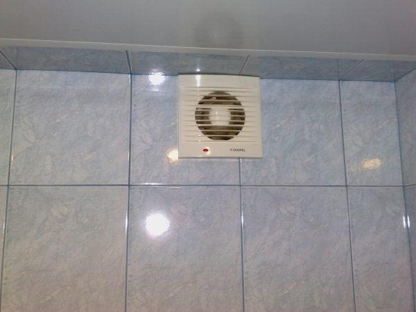 Вентиляция в ванной спасет от грибка