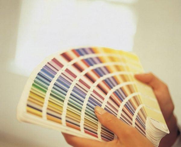 Выбор цветов для окрашивания