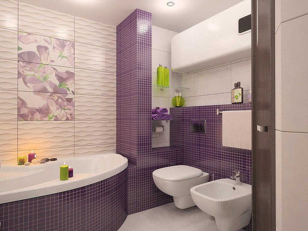 Пример дизайна ванной комнаты фото