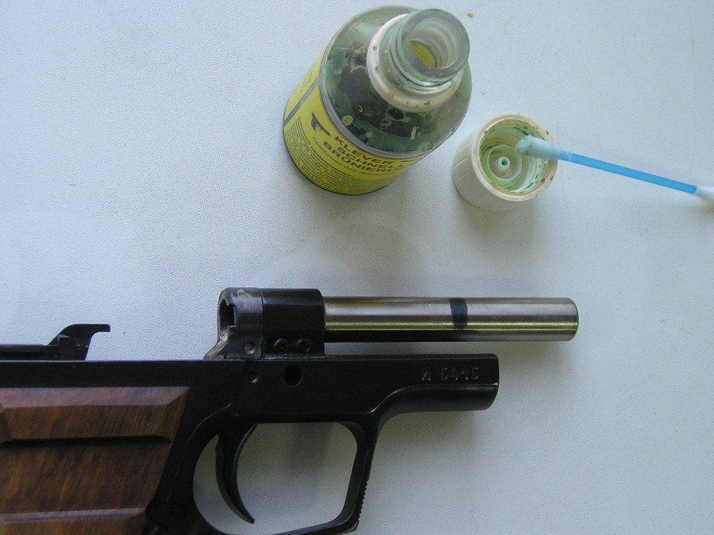 Как за воронить ствол на ружье в домашних условиях