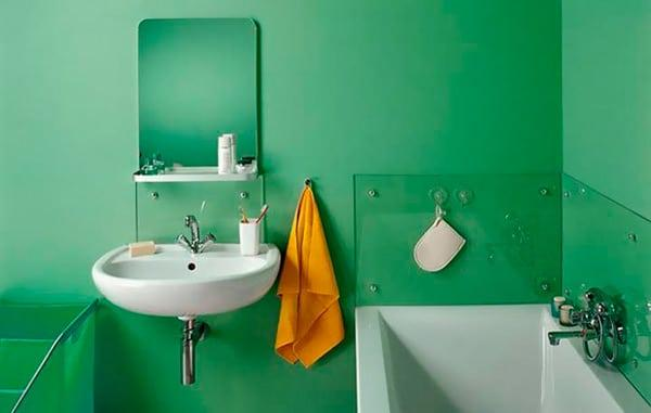 Какой краской можно покрасить стены в ванной