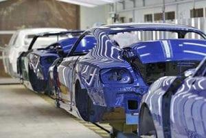 заводская покраска авто