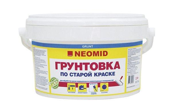 Грунт Neomid по старой краске