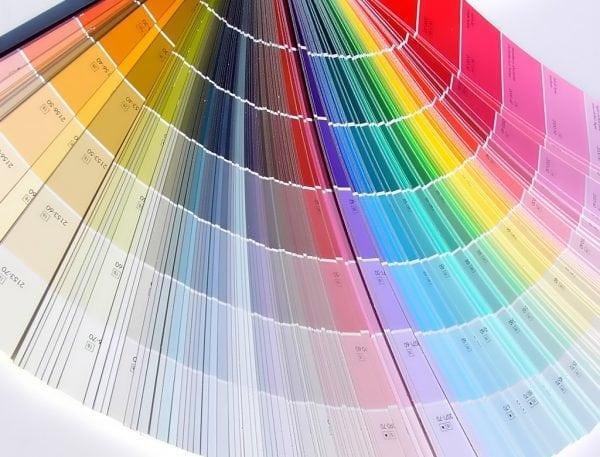 Оттенки колерантов для красок