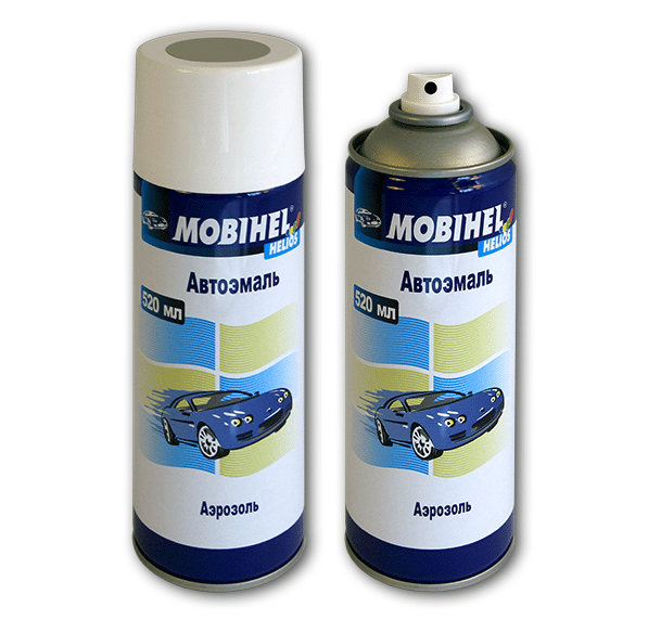 Автомобильная аэрозольная краска Mobihel металлик
