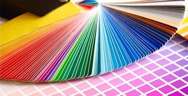 Разнообразная палитра оттенков порошковой краски