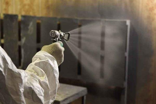 Нанесение покрытия металла от ржавчины