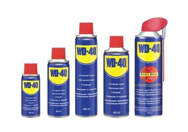 Антикоррозийные средства WD-40