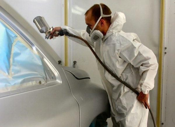 Защитный костюм при покраске аэрозолями своими руками