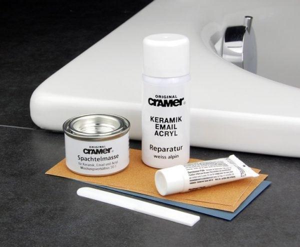 «Keramik-Email-Acryl Reparatur-Set» для заделки сколов