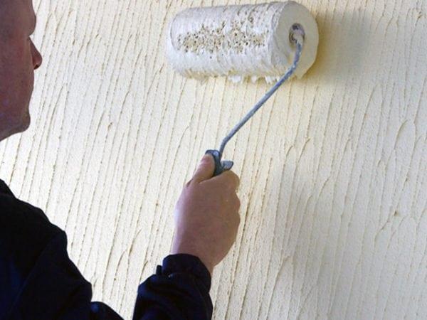 Фактурная краска для красивой отделки фасадов дома