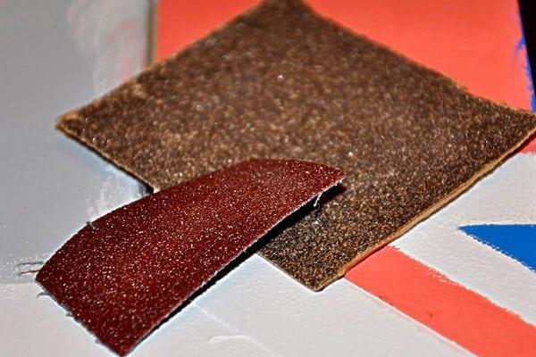 Наждачка для обработки поверхности