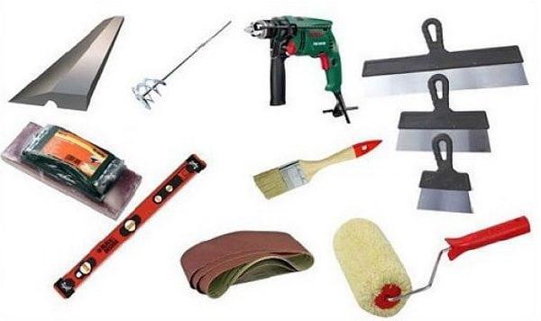 Инструменты для шпаклевания стен из газобетона