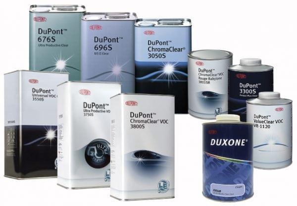 Высокотехнологичные автолаки DuPont Refinish