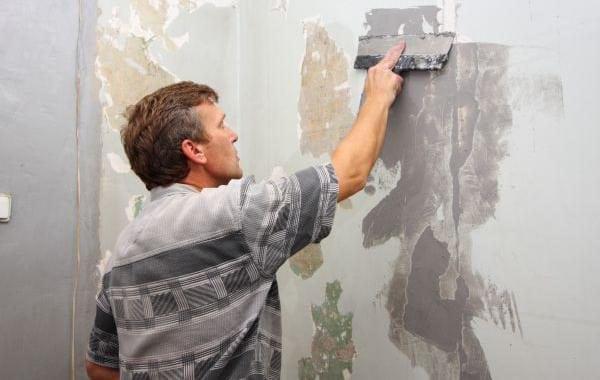 Шпаклевание стен по штукатурке