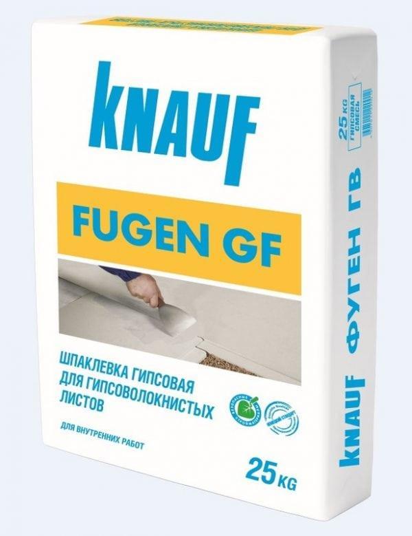 Шпаклевка Knauf Fugen GF для гипсоволокнистых листов