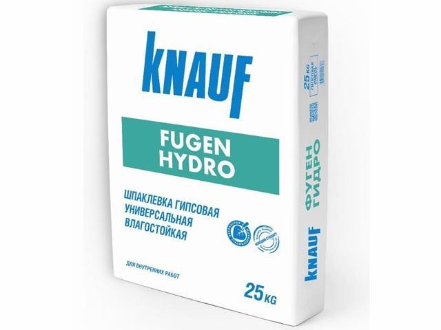 Влагостойкая гипсовая шпаклевка Knauf