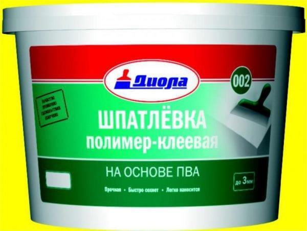 Полимерно-клеевая шпаклевка на основе ПВА