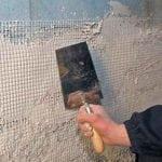Усиление штукатурки металлической сеткой
