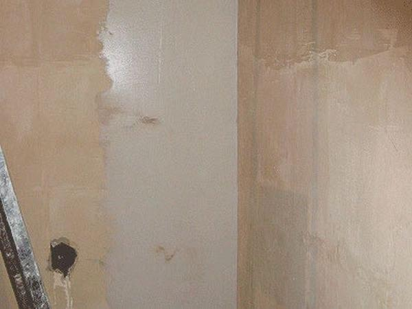 Шпаклевание стен из ДСП под обои