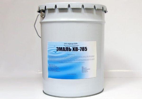 Кислотостойкая краска ХВ-785