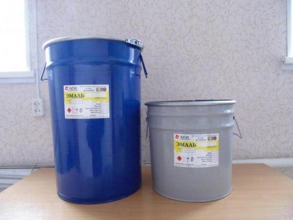 Цвета и упаковка грунт-эмали ХВ-0278